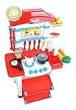Iso Trade Spielküche L Kinderspielküche Spielzeugküche #4688