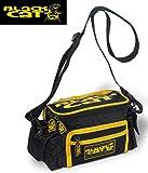 Black Cat Accessory Keeper 23x7x7,5cm - Zubehörtasche, Angeltasche für Kleinteile, Tasche für Welszubehör