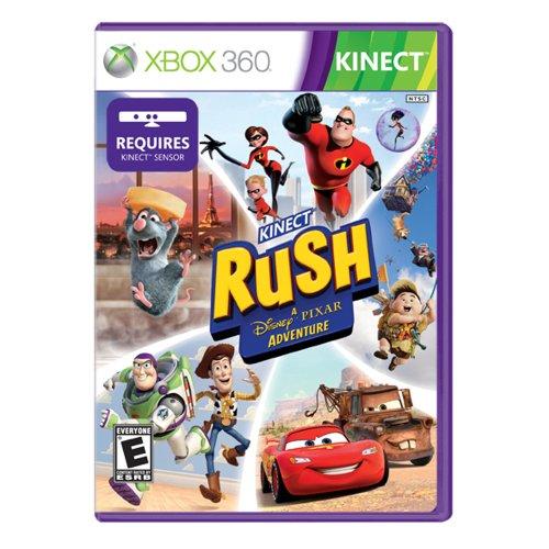 Microsoft Kinect Rush - Juego (Xbox 360, ENG, Xbox 360, Aventura, E (para todos))