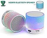 WEB9T9 (Top Selling) Mini Bluetooth Wireless Speaker Compatible For Iphone 6,6S,6Plus/5S 5C 5/Ipad Air2,Mini2,Mini3/Ipad 4Th Gen/Ipod Touch 5Th Gen/Ipod Nano 7Th Gen,Multicolor