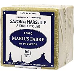 Jabón de Marsella ecológico 72% aceite de oliva (600 gr)