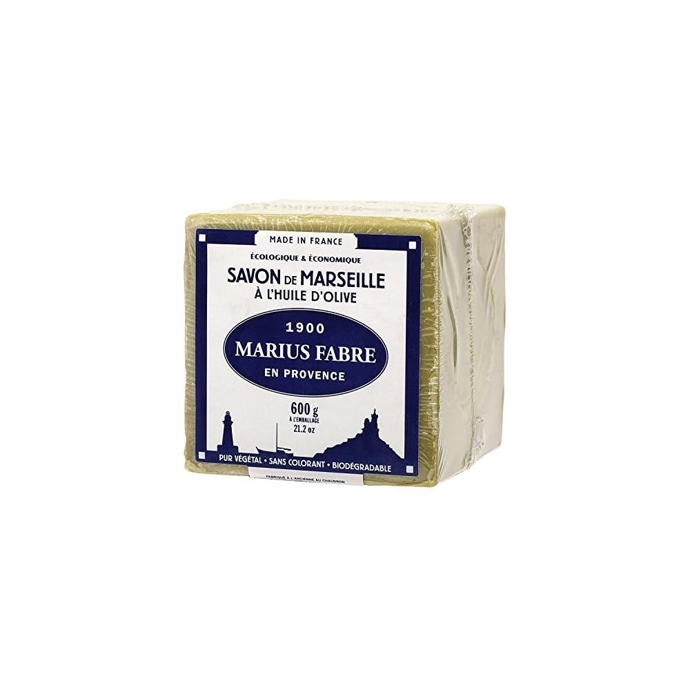 Marius Fabre Savon De Marseille X2 C6 Olivenl Cube 600 G