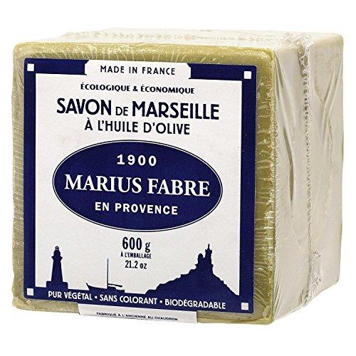 Marseiller Kernseife (ökologisch und ökonomisch), 72% Olivenöl, 600g -