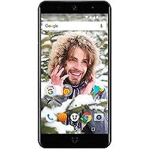 "Wileyfox Swift 2 16GB with 2GB RAM 5.0"" HD (Dual SIM 4G) SIM-Free Smartphone Android Nougat 7.1.2 - Midnight"