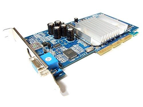 XFX Nvidia GeForce4 MX440SE 64MB SDR TV-out VGA AGP Graphics Card PV-T17L-DTHB (Zertifiziert und Generalüberholt)