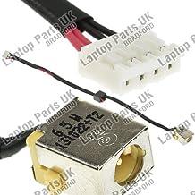 PACKARD BELL EasyNote NEW90, NEW95, P5W50, PEW91, PEW92 DC Power Jack, Conector de Alimentación, Enchufe, Conector de puerto con el cable