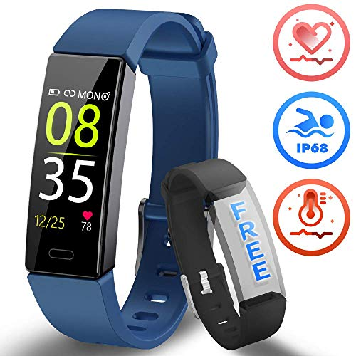 HOFIT Fitness Tracker,Orologio Braccialetto Smartwatch Activity Tracker Impermeabile IP68,Pressione...