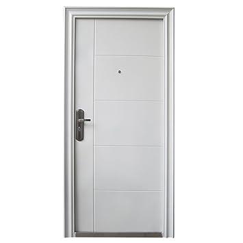 Wohnungstür sicherheitstür  Haustür Tür Sicherheitstür Wohnungstür Haustüren 96x205cm WEISS ...