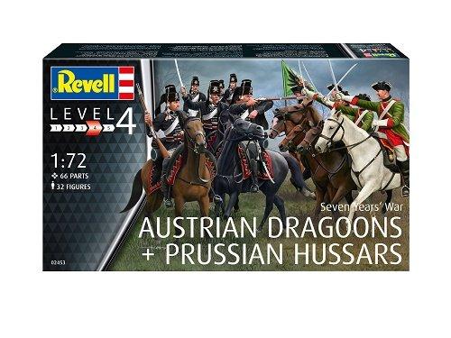 Revell 02453 - Modellbausatz Figuren 1:72 - Seven Years War im Maßstab 1:72, Level 4, orginalgetreue Nachbildung mit vielen Details