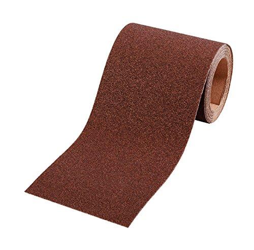 kwb Schleifpapier-Rolle - für Metall und Holz, K-40, 93 mm x 5 m, Korund