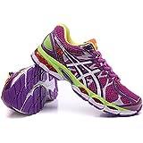 De la Mujer Luz acolchado Gel Nimbus 16Trail carretera competición deportiva de Running Zapatos Calzado Zapatillas Deportivas En Color Rosa Y Morado, mujer, rosa (b), EUR39