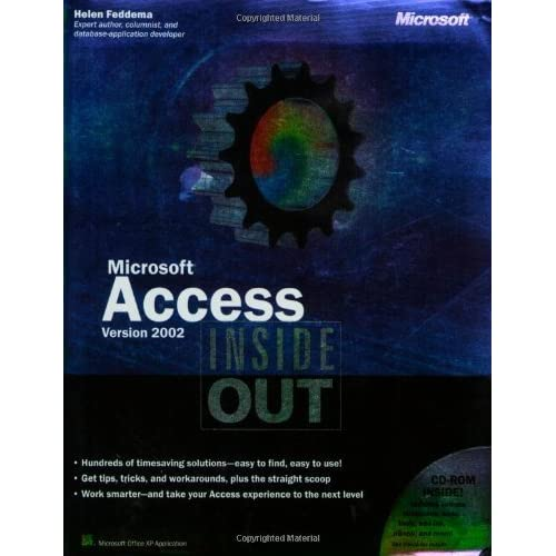 Microsoft?? Access Version 2002 Inside Out by Helen Feddema (2002-01-05)