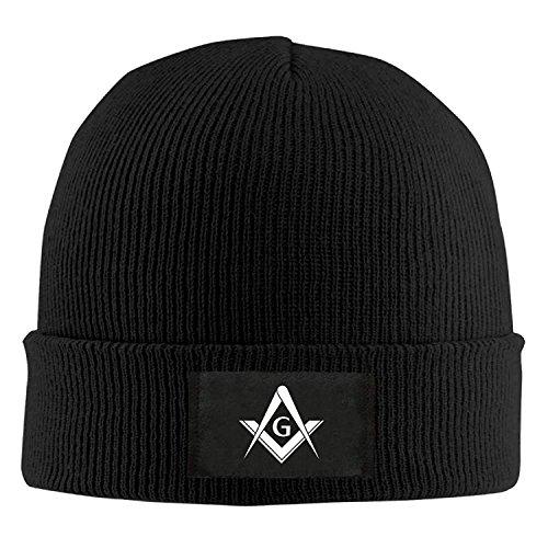 Naiyin Freemason Logo Square and Compass 1 - Adult Knit Hat Beanies Cap Winter Warm Cap