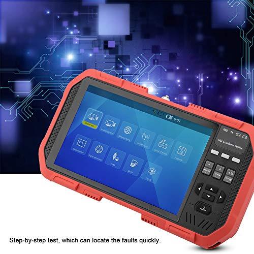 Qinlorgo Professionelle Netzwerk-HD-Tester-Kits, DT-A86-Netzwerk-HD-Tester + TDR-Leitungsunterbrechungstest + Multimeter + Leistungsmesser AC100-240V(EU-Stecker)