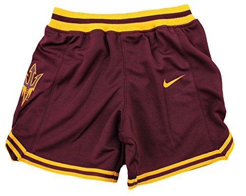 Nike NCAA Little Boys Kleinkind Arizona State Sun Devils Basketball Shorts, Kastanienbraun, Jungen, kastanienbraun (, Kleinkind, Basketball-shorts)
