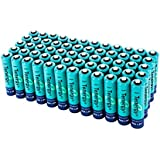 Unbranded 60 Pcs Of Tenergy AAA 1000mAh High Capacity NiMH Rechargeable Batteries