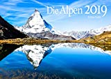 Edition Seidel Alpen Premium Kalender 2019 DIN A3 Wandkalender Berge