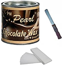 Generic Ddh Choclate Hot Wax 600 Gm For Hair Removal With 90 Wax Strips Pack Knife