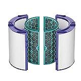 CAOQAO SystèMe De Filtrage 360 ° à Deux éTages Scellé pour Dyson TP04 / HP04 / DP04 / TP05 / HP05,Aspirateur PièCes,Remplacement Nettoyeur Filtre Kit PièCes De Rechange pour Aspirateur Robot