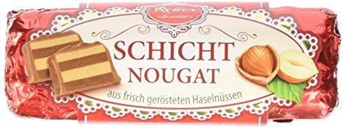 Reber Schicht-Nougat, 6er Pack (6 x 48 g)