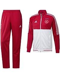 adidas AFC Ajax Pes Chándal, Hombre, Rojo (Rojfue / Blanco), L