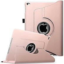 Fintie iPad mini 4 Funda - Giratoria 360 Grados Case Funda Carcasa con Función y Auto-Sueño / Estela para Apple iPad mini 4 (2015 Versión) 7.9 Inch iOS Tablet, Oro Rosa