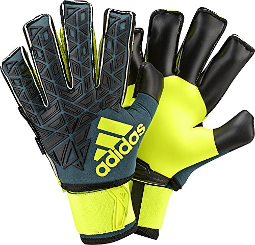 adidas Torwarthandschuhe ACE Ultimate Tech Green/Black/Solar Yellow, 11