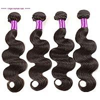 Wisforyou@3Pcs/Lot 7a Peruvian Virgin Hair Body Wave 8-30inch Unprocessed Peruvian