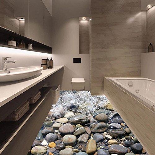 Adesivi yummilan pavimento 3d pvc adesivo murale - Stampe per bagno ...