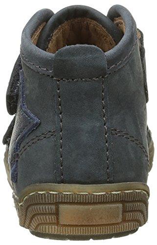 Bisgaard 40704216, Baskets Hautes Mixte Enfant 604 Blue