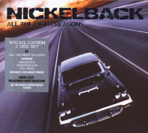 All the Right Reasons: (Special Edition 2008) plus DVD by Nickelback