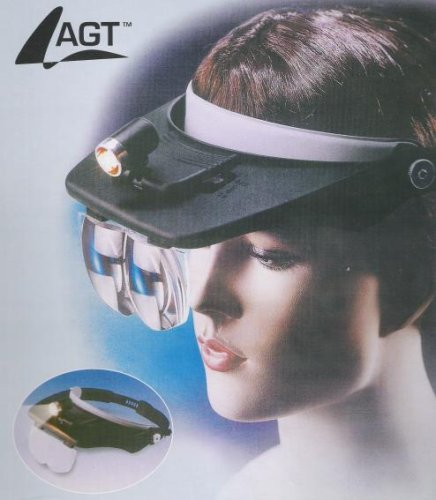 PROFI Kopfbandlupe mit Stirnband 4 Linsen + ()