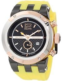 Mulco MW5-1621-095 47 Stainless Steel Case Yellow Plastic Band Caballero & WoCaballero Reloj