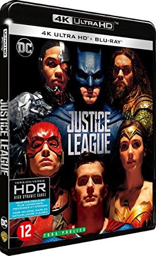 Justice League - Blu-ray 4K - DC COMICS