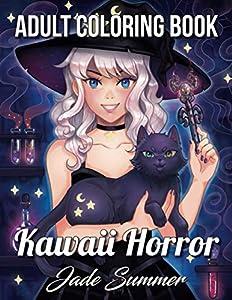 Kawaii Horror: An Adult Coloring