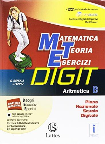 Matematica teoria esercizi digit. Aritmetica B. Mi preparo-Quaderno competenze e operativo. Per la Scuola media. Con DVD-ROM. Con e-book. Con espansione online: 2