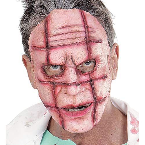 Widmann 00834 - Maske Scarface (Scarface Fancy Dress Kostüm)