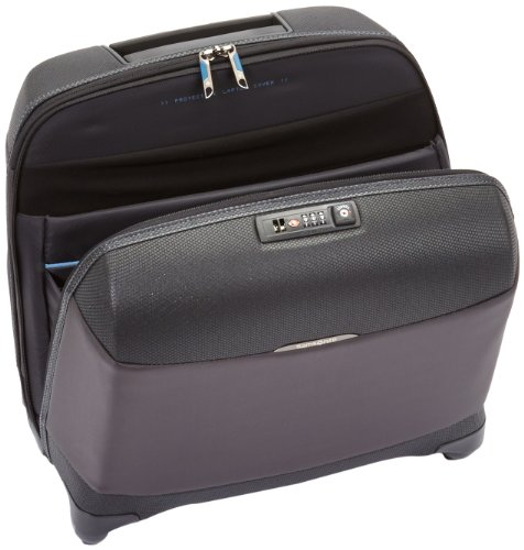 Samsonite Koffer Laptoptrolley Litesphere Spinner Rolling Tote, 43 cm, 25 Liter, space black/moon rock grey, 48277 space black/moon rock grey