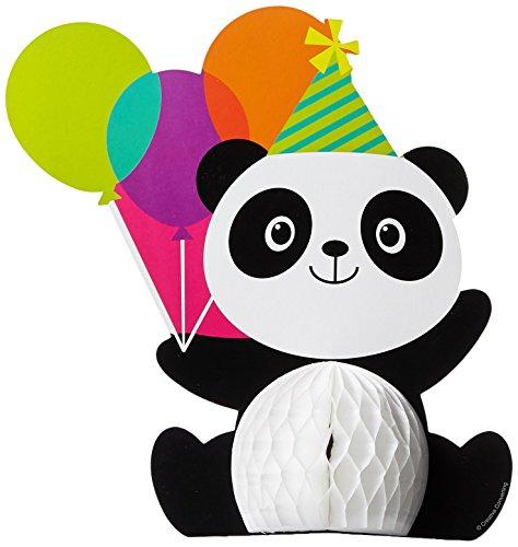 Creative Converting Tafelaufsatz Panda-Monium, Papier