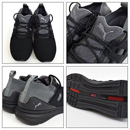 Puma Limitless Lo Evoknit Homme Baskets Mode Noir Noir
