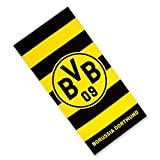 BVB 09 Borussia Dortmund Duschtuch Querstreifen 75x150 cm Badetuch Strandtuch 15993300