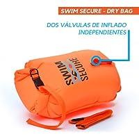 Swim Secure Boya de natación Aguas Abiertas 28L Talla M (NATACIÓN y Triatlon) DISTRIBUIDORES Oficiales EN ESPAÑA