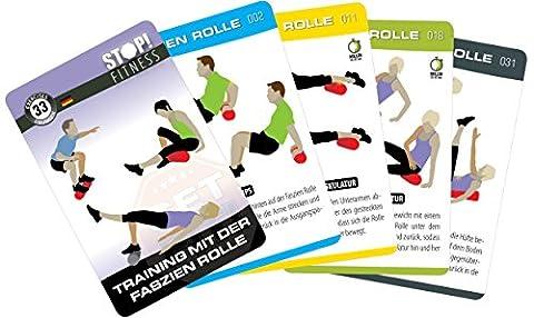 Stop. Training Cartes–avec le rôle fascia–DT. Version–Fitness Serie