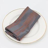 orange serviettes de table en tissu linge de table cuisine maison. Black Bedroom Furniture Sets. Home Design Ideas