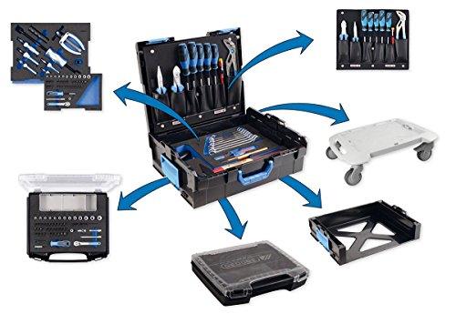 GEDORE L-BOXX 136 - 58 teilig / Großes Hand- bzw. Heimwerker Werkzeugset mit Check-Tool-Einlage / VDE Werkzeugset / Profi Werkzeuge für jede Gelegenheit - 3