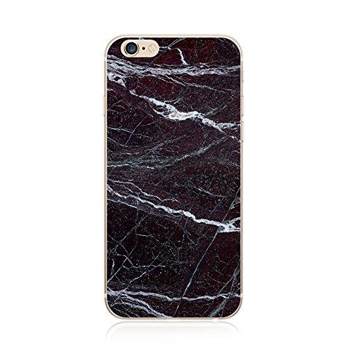 Coque iPhone 7 Housse étui-Case Transparent Liquid Crystal marbre en TPU Silicone Clair,Protection Ultra Mince Premium,Coque Prime pour iPhone 7 (2016)-style 13 iphone7plus-4