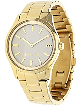 Esprit Damen-Armbanduhr gold Analog Quarz Edelstahl beschichtet ES108842002