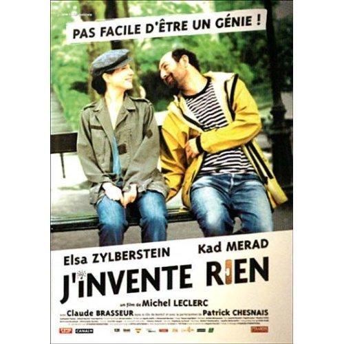 J'invente rien (French language) by Elsa Zylberstein
