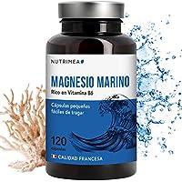 Magnesio Vitamina B6 Cansancio Fatiga Alivio de Calambres Magnesio Marino Potente Suplemento Articulaciones Cartílagos Huesos Piel