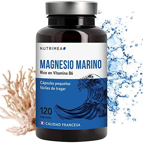 Magnesio Vitamina B6 Cansancio Fatiga Alivio de Calambres Magnesio...